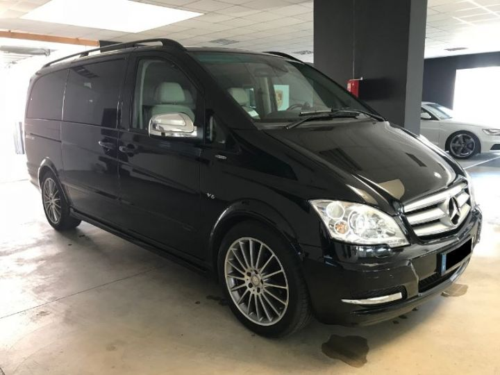 Mercedes Viano 3.0 CDI BE AVANTGARDE LONG BA NOIR Occasion - 1