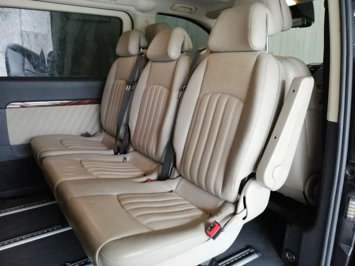 Mercedes Viano 3.0 CDI V6 224 CV AMBIENTE EXTRA LONG BVA 8PL Noir - 10