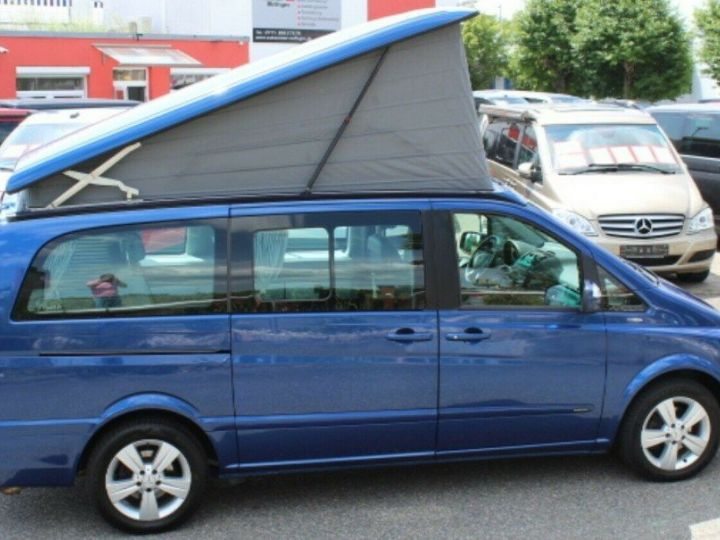 Mercedes Viano Marco Polo 2.2  CDI 163 BM (toit ouvrant)05/2013 bleu métal - 2