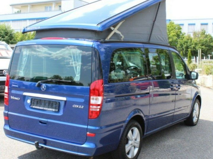 Mercedes Viano Marco Polo 2.2  CDI 163 BM (toit ouvrant)05/2013 bleu métal - 3