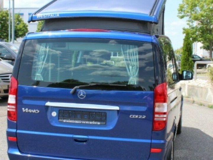 Mercedes Viano Marco Polo 2.2  CDI 163 BM (toit ouvrant)05/2013 bleu métal - 4