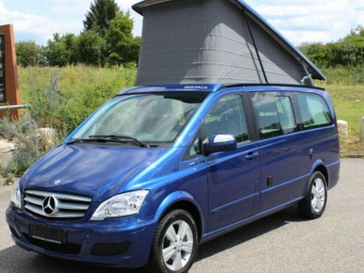 Mercedes Viano Marco Polo 2.2  CDI 163 BM (toit ouvrant)05/2013 bleu métal - 7