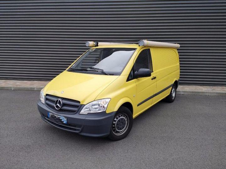 Mercedes Vito Fourgon 110 CDI COMPACT e 77 000 km Blanc Occasion - 5