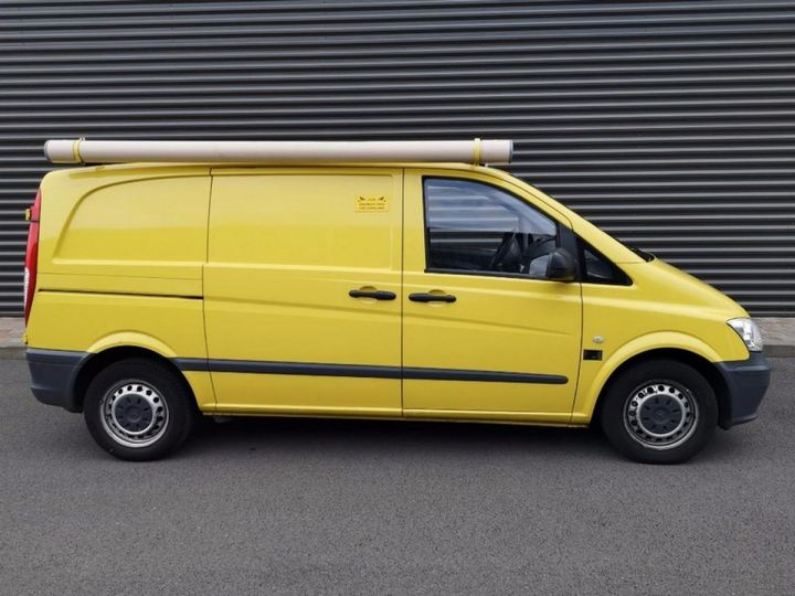 Mercedes Vito Fourgon 110 CDI COMPACT e 77 000 km Blanc Occasion - 6