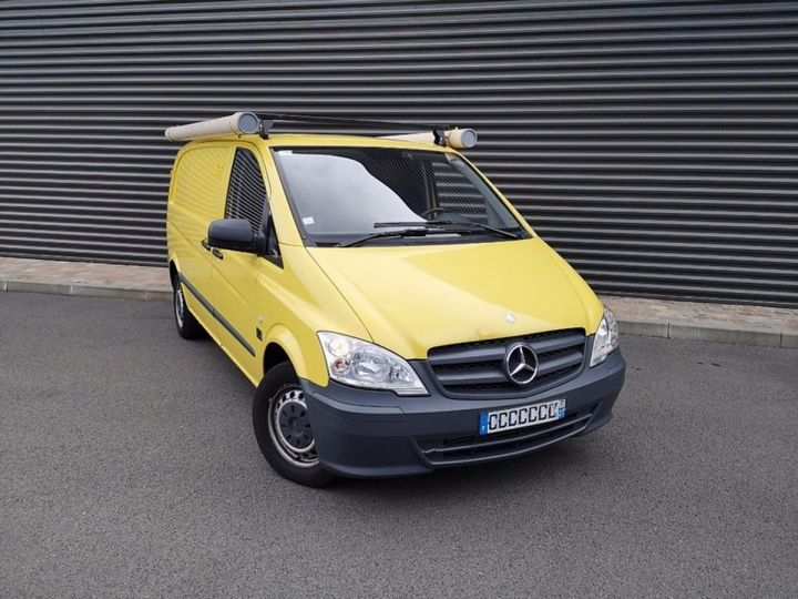 Mercedes Vito Fourgon 110 CDI COMPACT e 77 000 km Blanc Occasion - 13