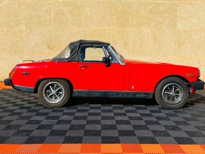 MG Midget 1500 CABRIOLET EN FRANCE Rouge - 5