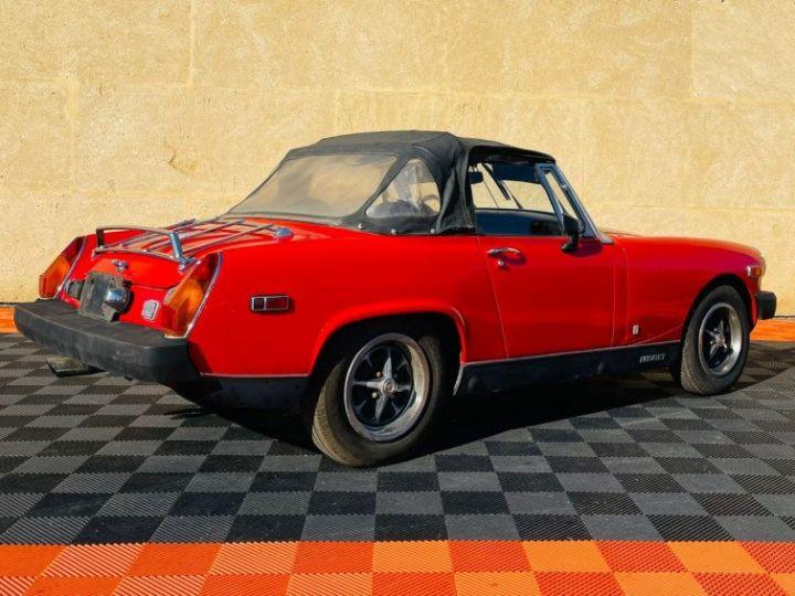 MG Midget 1500 CABRIOLET EN FRANCE Rouge - 6