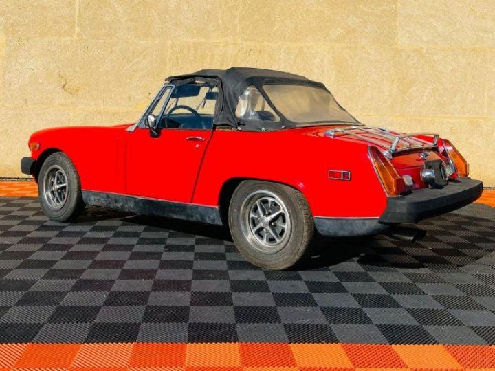 MG Midget 1500 CABRIOLET EN FRANCE Rouge - 8