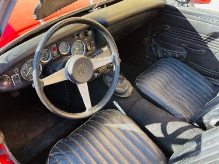 MG Midget 1500 CABRIOLET EN FRANCE Rouge - 11