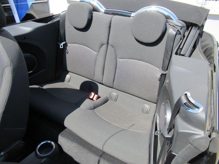 Mini Cabrio COOPER 122CH BVA Noir - 6