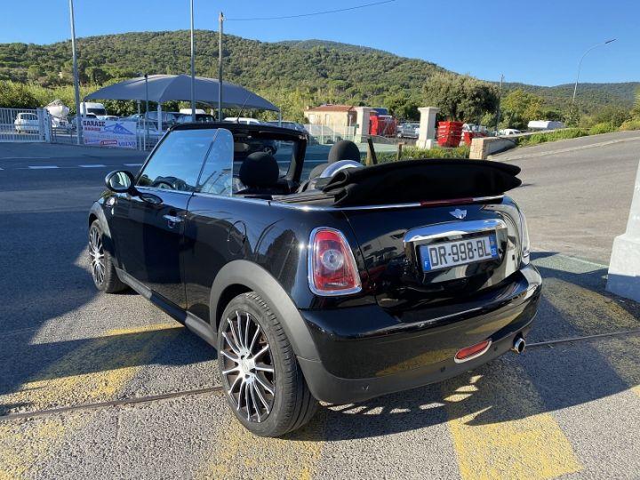 Mini Cabrio COOPER 122CH PACK CHILI Noir - 8
