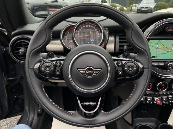 Mini Cabrio COOPER S 2.0 192ch EXQUISITE BVA7 GRIS FONCE - 20