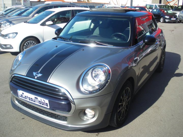Mini Cooper 116 CV PACK CHILI gris - 1