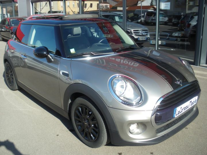 Mini Cooper 116 CV PACK CHILI gris - 2