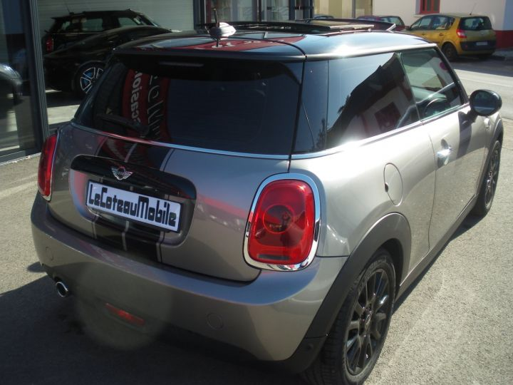 Mini Cooper 116 CV PACK CHILI gris - 6