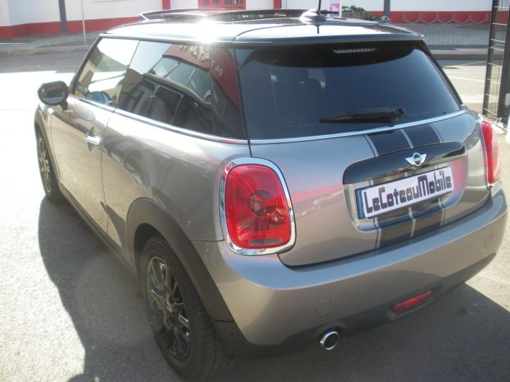 Mini Cooper 116 CV PACK CHILI gris - 7