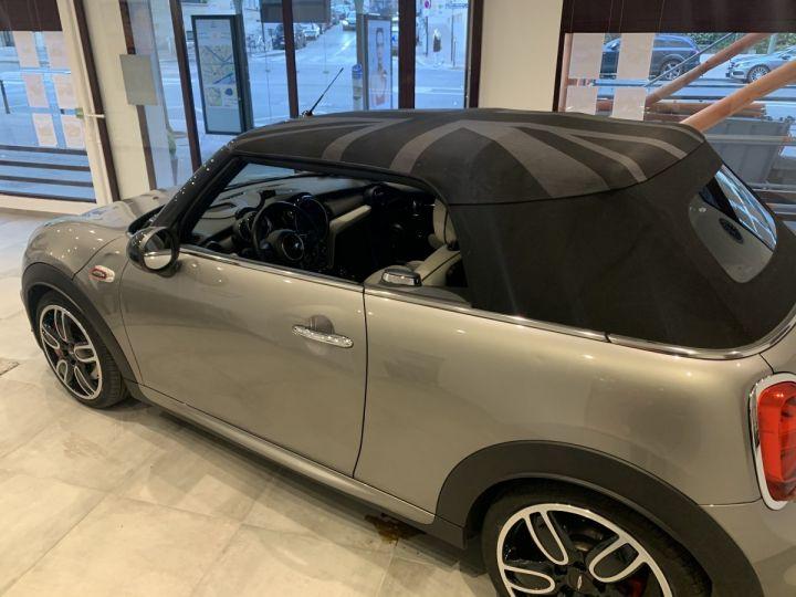 Mini Cooper Cooper S Cabriolet John Cooper Works  Gris argent métal  Occasion - 3