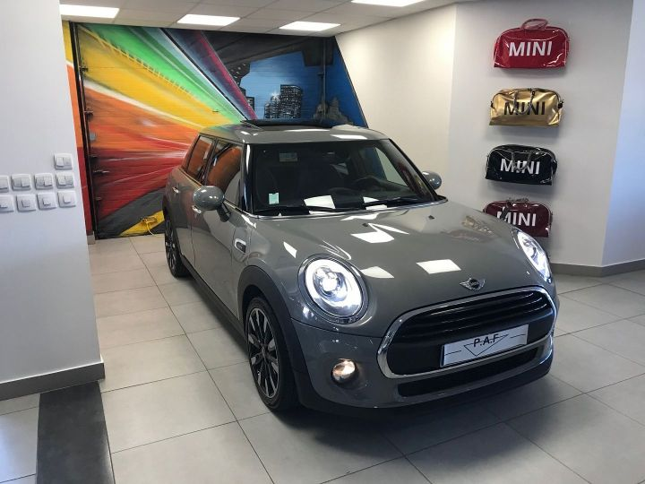 Mini Cooper ONE 102CH BLACKFRIARS Gris Occasion - 3