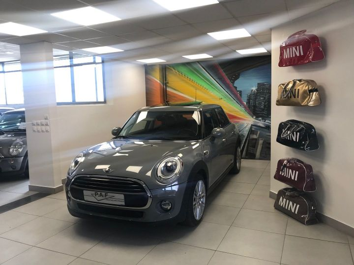 Mini Cooper ONE 102CH BLACKFRIARS BVA Gris C Occasion - 1