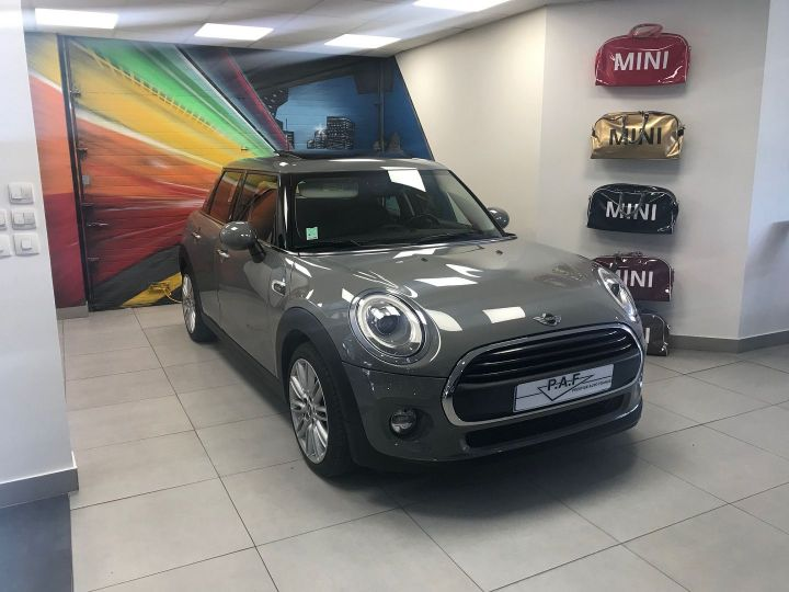 Mini Cooper ONE 102CH BLACKFRIARS BVA Gris C Occasion - 3