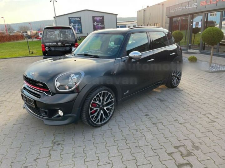 Mini Countryman John Cooper Works 218ch ALL4 Noir - 1