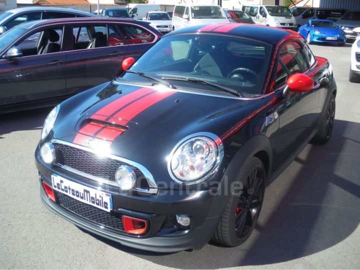 Mini One 2 COUPE II COUPE COOPER SD PACK RED HOT CHILI Noir Metal - 1