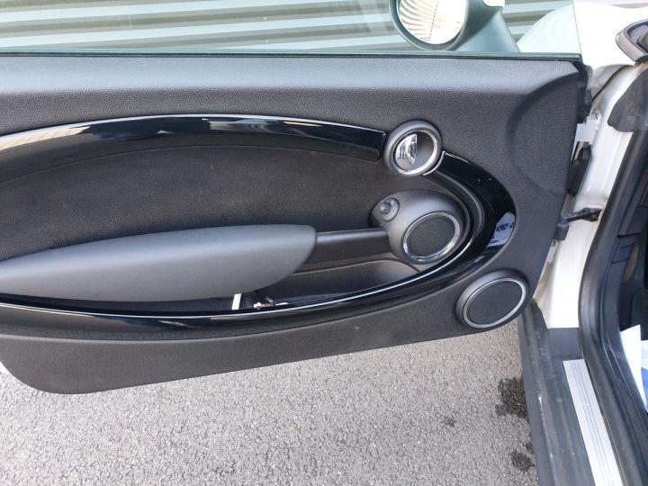Mini One 2 ii cabriolet cooper d 1.6v 112 Blanc Occasion - 11