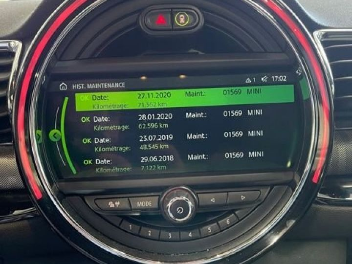 Mini One Clubman 2.0 SD 190 CH 06/2017 CARNET COMPLET  - 10