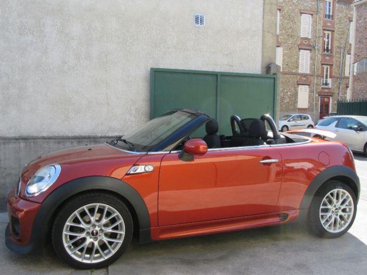 Mini Roadster COOPER SD 143CH PACK RED HOT CHILI BORDEAU Occasion - 5