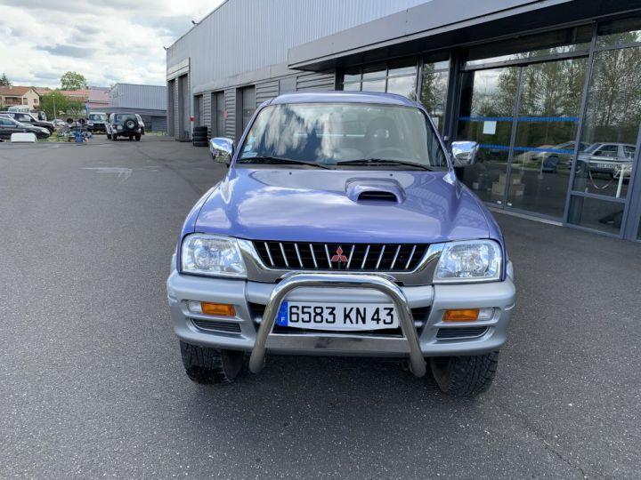 Mitsubishi L200 Double cabine 2.5 L TD 100 CV GLS Violet + gris - 2