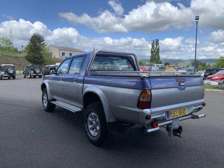 Mitsubishi L200 Double cabine 2.5 L TD 100 CV GLS Violet + gris - 4