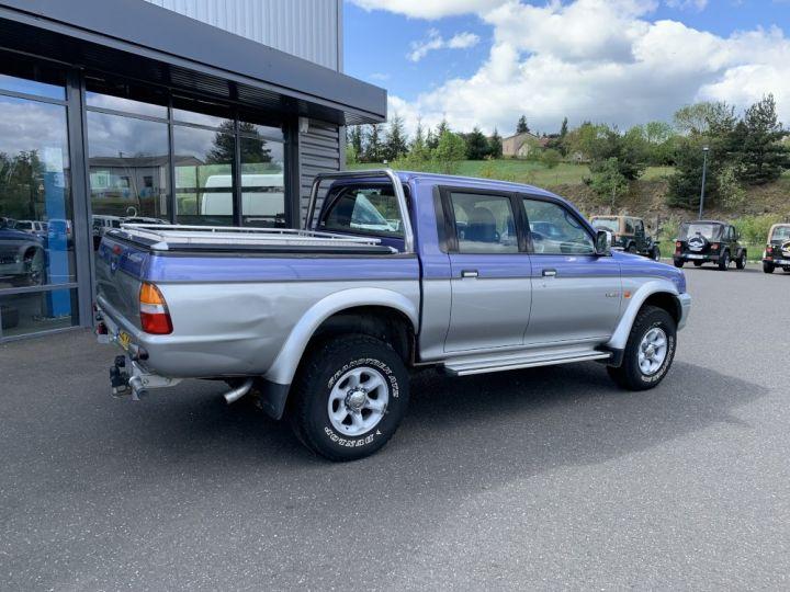 Mitsubishi L200 Double cabine 2.5 L TD 100 CV GLS Violet + gris - 7