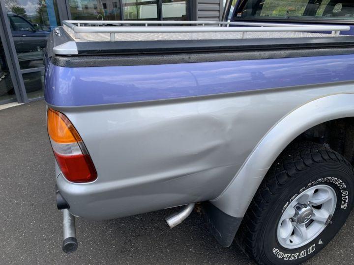 Mitsubishi L200 Double cabine 2.5 L TD 100 CV GLS Violet + gris - 8