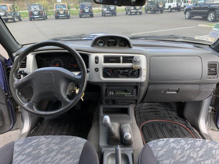 Mitsubishi L200 Double cabine 2.5 L TD 100 CV GLS Violet + gris - 13