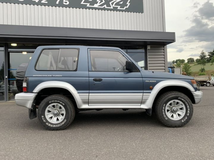 Mitsubishi PAJERO 2.5 L TD 100 CV GLS Bleu + gris - 7
