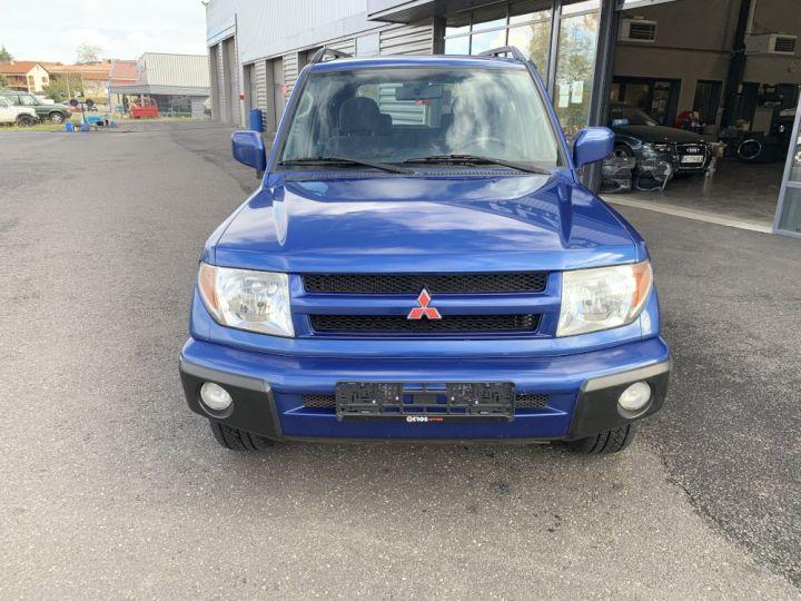Mitsubishi PAJERO PININ 2 L DGI Essence 5 portes 129 CV Bleu - 3
