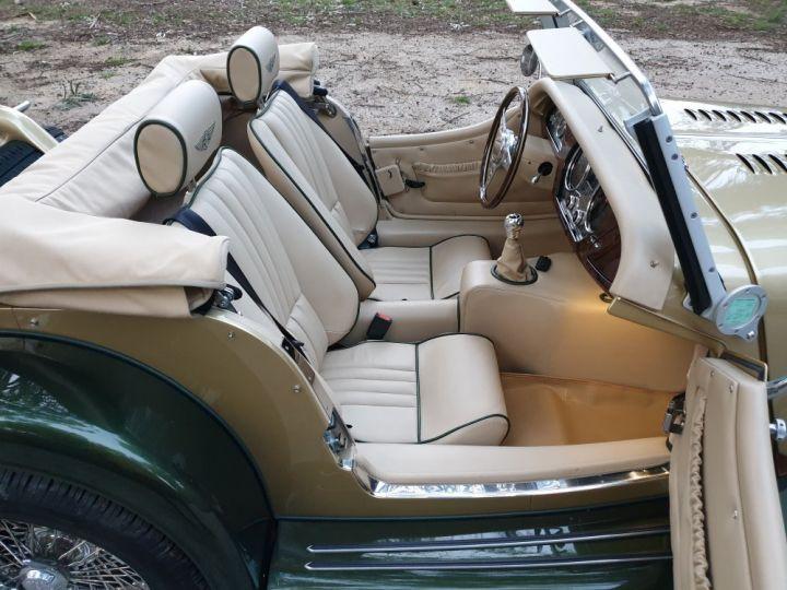 Morgan Roadster ROADSTER  3.7 L V6 BICOLORE VERT ET OR - 13