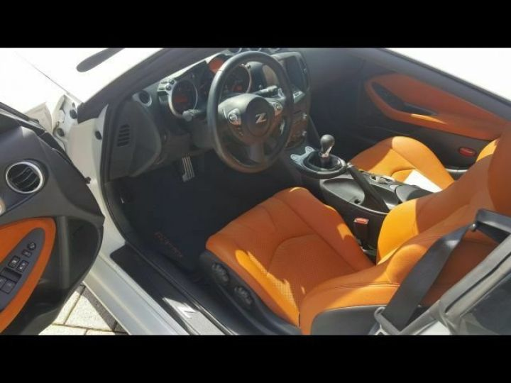 Nissan 370Z Pack blanc - 5