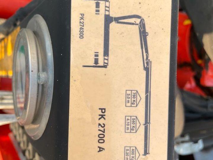 Nissan Cabstar benne grue palfinger  - 7