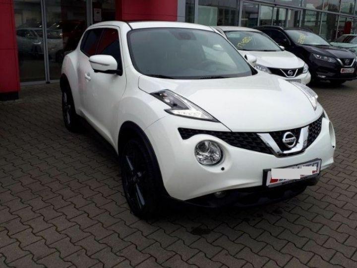 Nissan JUKE 1.5 dCi 110 Tekna (10/2017) blanc - 1