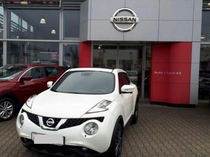 Nissan JUKE 1.5 dCi 110 Tekna (10/2017) blanc - 2