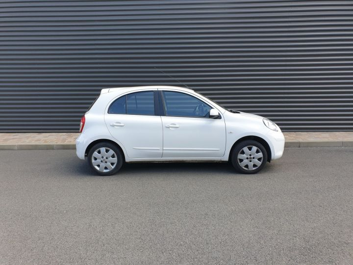 Nissan Micra 4 1.2 80 acenta Blanc Occasion - 3