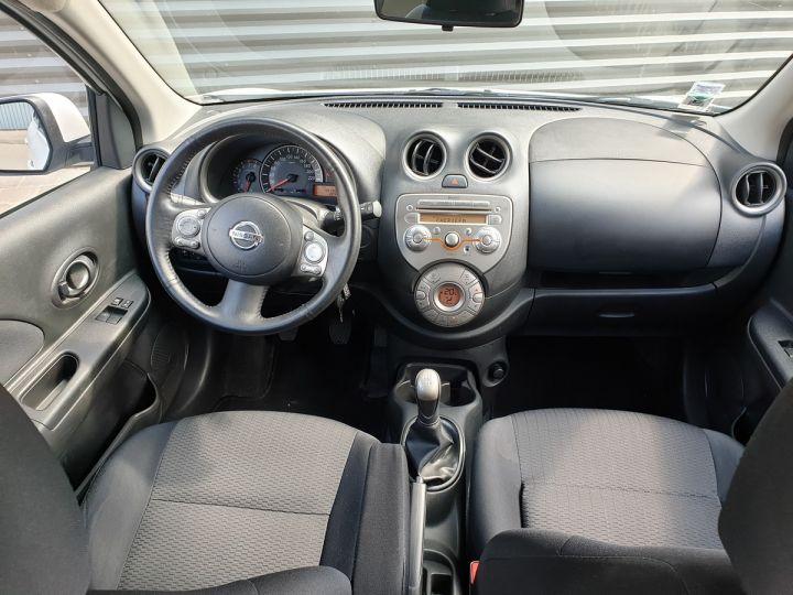 Nissan Micra 4 1.2 80 acenta Blanc Occasion - 5