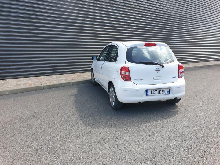 Nissan Micra 4 1.2 80 acenta Blanc Occasion - 16