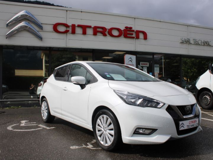 Nissan Micra BUSINESS 2018 IG-T 90 Business Edition Blanc - 2