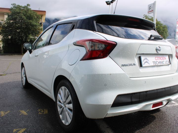 Nissan Micra BUSINESS 2018 IG-T 90 Business Edition Blanc - 3