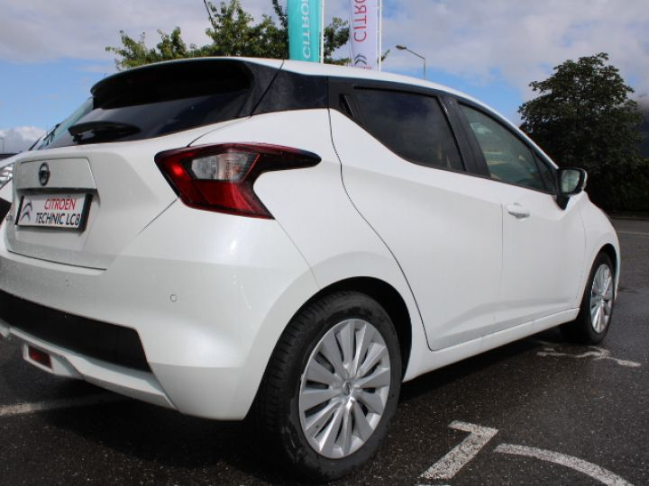 Nissan Micra BUSINESS 2018 IG-T 90 Business Edition Blanc - 4