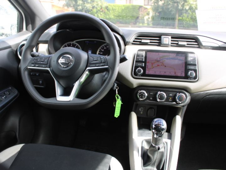 Nissan Micra BUSINESS 2018 IG-T 90 Business Edition Blanc - 11