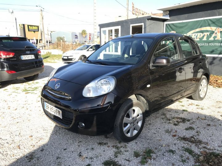 Nissan MICRA CONNECT EDITION PRUNE FONCE METAL Occasion - 2
