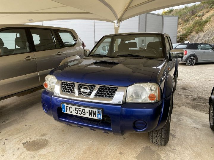 Nissan NAVARA 2.5 DI Bleu F - 1